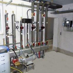 Warmwasser-Verteilung